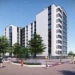 Розпочато будівництво багатоквартирного будинку – Комплекс Парковий по вул.Хіміків, біля річки Бистриця Солотвинська.