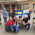 Івано-Франківськ висловлює свою підтримку хлопцям, які в полоні!
