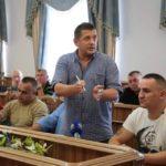 Учасники АТО/ООС та волонтери, провели зустріч з головою обласної державної адміністрації Денисом Шмигалем