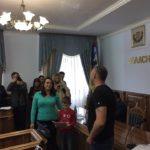 """У п'ятницю вчетверте за проектом """"Соціум"""" було вручено ще десять квартир бійцям, учасникам АТО з м.Івано-Франківськ."""